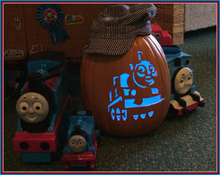 Justin contursi 39 s pumpkin patch for Thomas pumpkin template